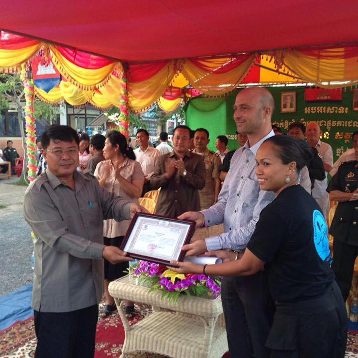 Collaboration With Royal Government of Cambodia