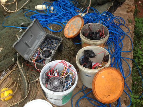 Electric Fishing Gear Used on Trawlers